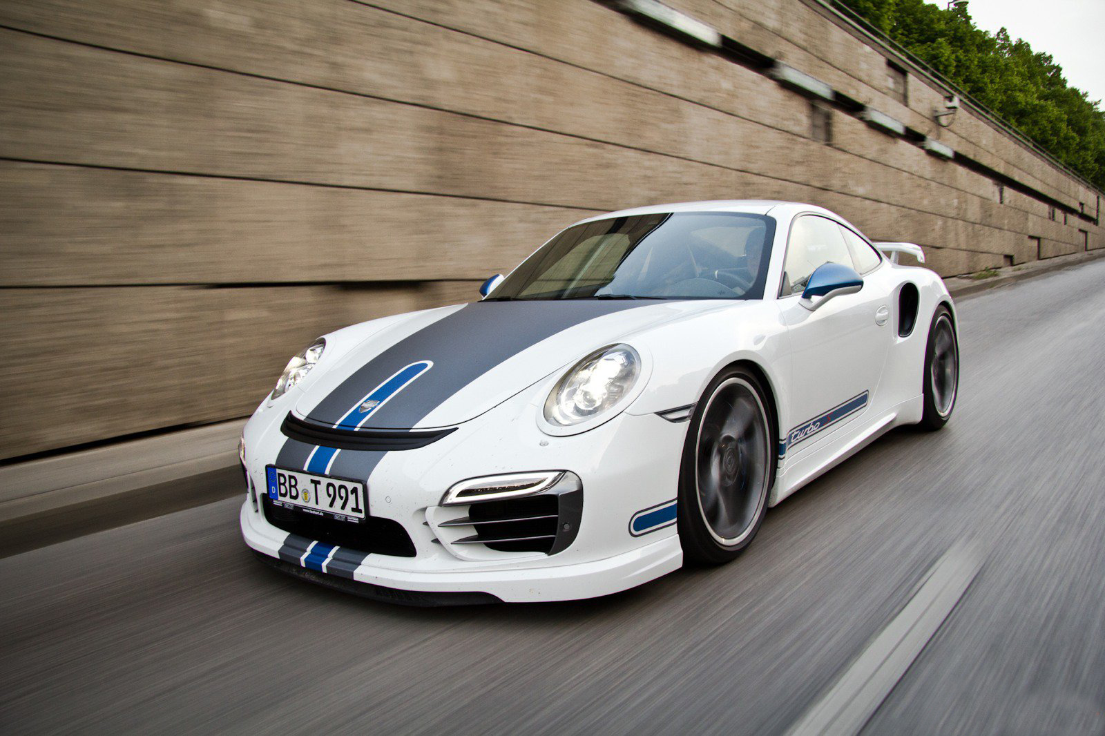 Porsche 991 Turbo S by Techart